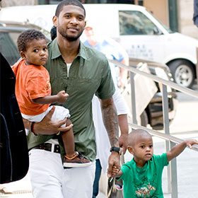Usher's Son Hospitalized After Pool Accident, In Intensive Care