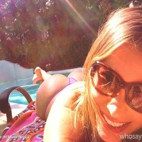 Sofia Vergara Bares Her Butt In Poolside Pic
