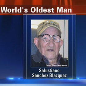 Salustiano Sanchez Blazquez, Oldest Living Man, Dies At 112