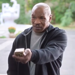 Mike Tyson Gives Back Evander Holyfield'™s Ear In Foot Locker Ad