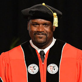 Shaquille O'Neal Earns A Ph.D.