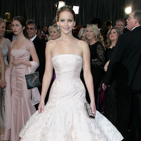 Oscars' Best-Dressed Slideshow: Jennifer Lawrence, Anne Hathaway, Jessica Chastain, Charlize Theron And More