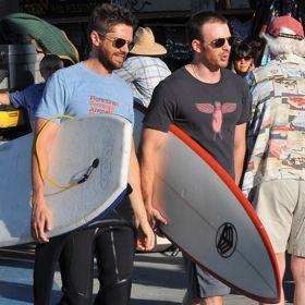 Chris Evans & Topher Grace's Surfin' Safari