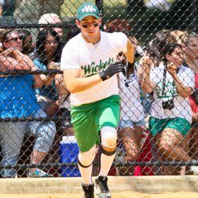 Nick Jonas Plays Baseball For Broadway