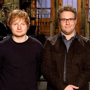 'Saturday Night Live' Recap: Seth Rogen Hosts, Ed Sheeran Performs
