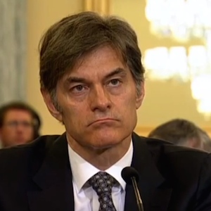 Dr. Oz Testifies In DC Hearing, Defends Mentions Of Weight-Loss Pills On 'Dr. Oz Show'