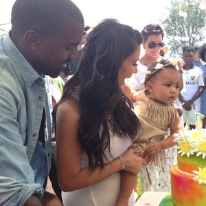 Kim Kardashian And Kanye West Throw North West 'Kidchella' Themed First Birthday Party