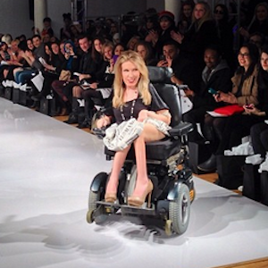 Danielle Sheypuk Becomes First Model In Wheelchair Ever At New York Fashion Week
