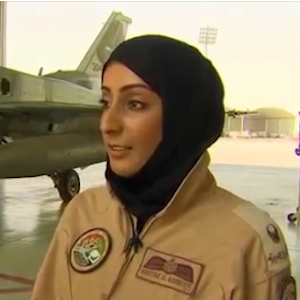 Mariam Mansouri, UAE's First Female Fighter Pilot, Leads Allied Airstrike Against ISIS