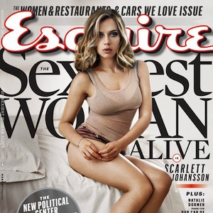 Scarlett Johansson Named 'Esquire's 'Sexiest Woman Alive' [PHOTOS]