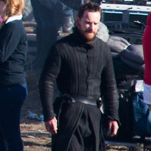 Michael Fassbender On '˜Macbeth'™ Set