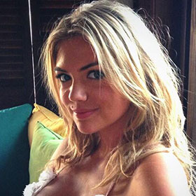 Kate Upton Shares Revealing Bikini Picture While On Location For 'The Other Woman'