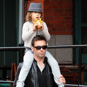 Hugh Jackman's Daughter Rides High