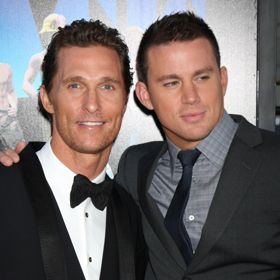 Matthew McConaughey And Channing Tatum Pal Around At 'Magic Mike' Premiere