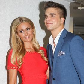 Paris Hilton Attends Cannes Film Festival For 'The Bling Ring' With River Viiperi