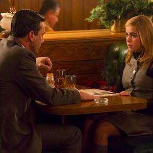 'Mad Men' Recap: Don & Sally Bond; Peggy Struggles On Valentine's Day