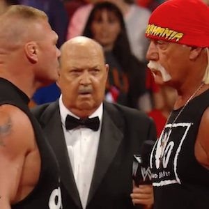 Hulk Hogan Threatens Brock Lesnar, Sparks New WWE Feud
