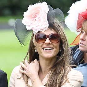 Elizabeth Hurley Goes Mad Hatter At Ascot