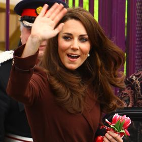 Kate Middleton's Valentine's Day Charity Tour