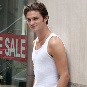 Shiloh Fernandez Strikes A Pose For 'Syrup'