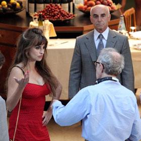 Penelope Cruz Heats Up Woody Allen's Set