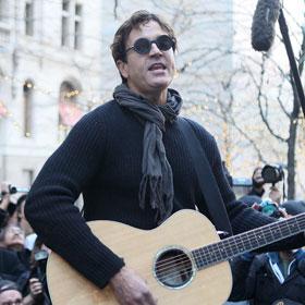 Stephan Jenkins Plays At Zuccotti Park