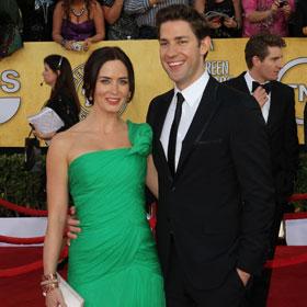 SAG Couple: Emily Blunt & John Krasinski