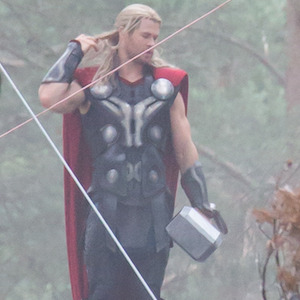 Chris Hemsworth Films Scenes As Thor For 'Avengers: Age Of Ultron'