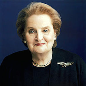 Madeleine Albright Engages In Humorous Twitter War With Conan O'Brien