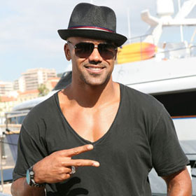 Shemar Moore Flashes Fans In Cannes