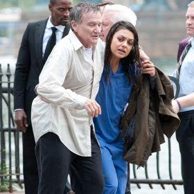 Mila Kunis Saves Robin Williams