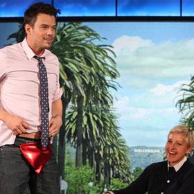 Josh Duhamel Rocks Thong On 'Ellen' [VIDEO]