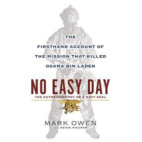 'No Easy Day' Bumps 'Fifty Shades Of Grey' From No. 1 On Bestseller List
