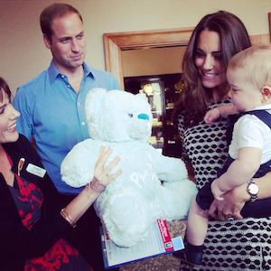 Prince George Attends First Official Function: A Playdate In New Zealand