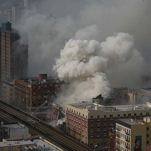Harlem Explosion: Death Toll Rises To 7; Mayor Bill De Blasio Surveys Scene