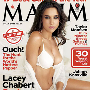 Lacey Chabert Poses For Sexy November Maxim Cover