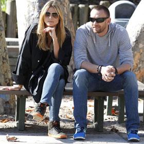 Heidi Klum And Martin Kristen Take It Easy