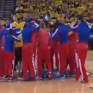 LA Clippers Squad Protests Donald Sterling And His Racist Comments Prior To Sunday's Game