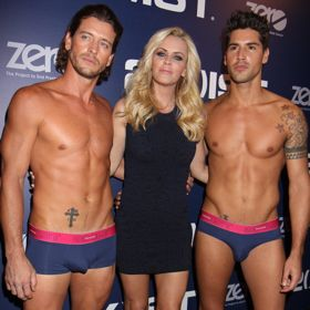 Jenny McCarthy Has Her Hands Full