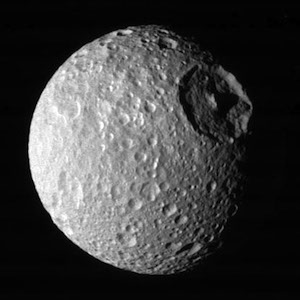 Mimas, Saturn's 'Death Star' Moon, Boasts Unusual Core