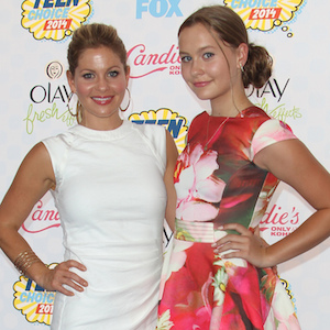 Candace Cameron Bure Brings Daughter Natasha Valerievna Bure To Teen Choice Awards, Talks Sharing Clothes