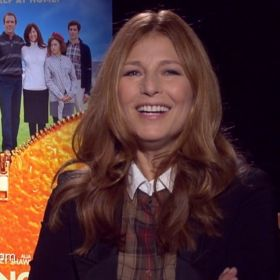 EXCLUSIVE VIDEO: Catherine Keener Bonds With Hugh Laurie On 'The Oranges'