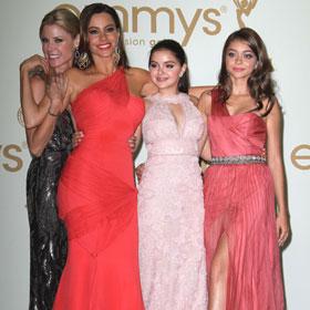 The Girls Of Modern Family Celebrate Win