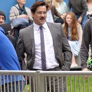 Colin Farrell Films 'The Lobster'