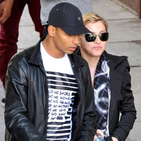 Madonna And Brahim Zaibat Tour Vienna