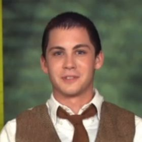 EXCLUSIVE: Logan Lerman On Donning Rocky Horror's Iconic Golden Thong In 'Perks Of Being A Wallflower'