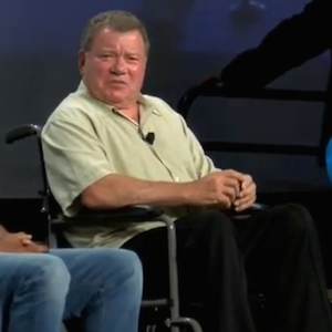 William Shatner Attended Comic-Con In A Wheelchair