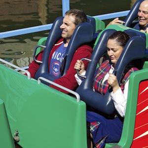 Steve Carell Brings Kids To Disneyland
