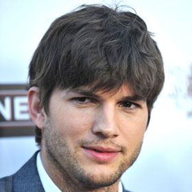 PHOTO: Ashton Kutcher Launches Initiative With Demi At His Side