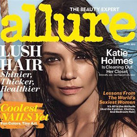 Katie Holmes Goes (Almost) Nude For 'Allure'